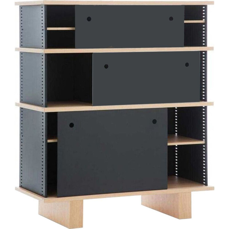 """526 NUAGE -  BL TYPE"" bookcase, Charlotte Perriand for CASSINA"