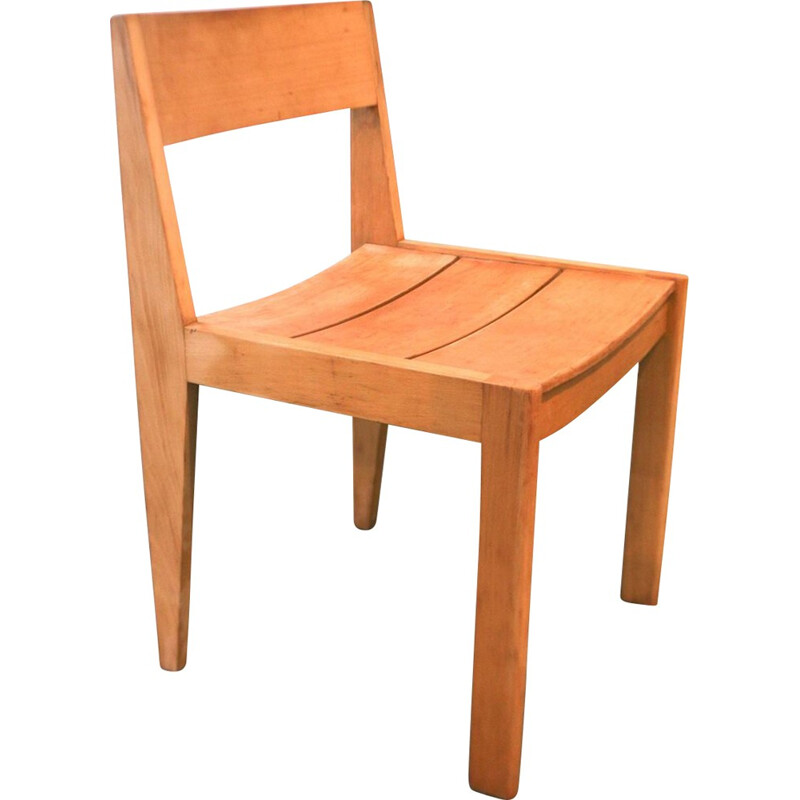 Horgen Glarus chair N 266 in teak, Martha HUBER-VILLIGER - 1950s