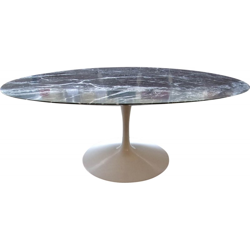 Knoll Quot Tulip Quot Coffee Table In Black Marquina Marble Eero
