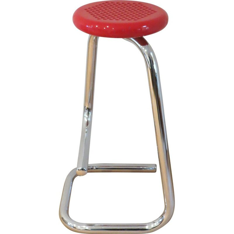 Vintage K700 Paperclip Stool by Hugh Hamilton Philip Salmon for Form Canada Design Import, 1960