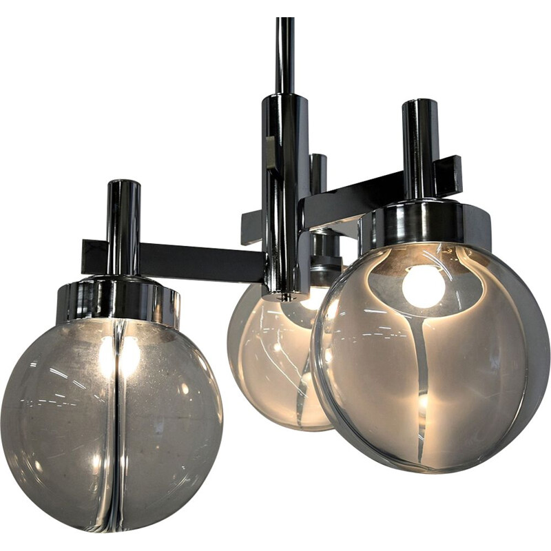 "Vintage ""Membrane"" ceiling lamp by Toni Zuccheri for Venini"