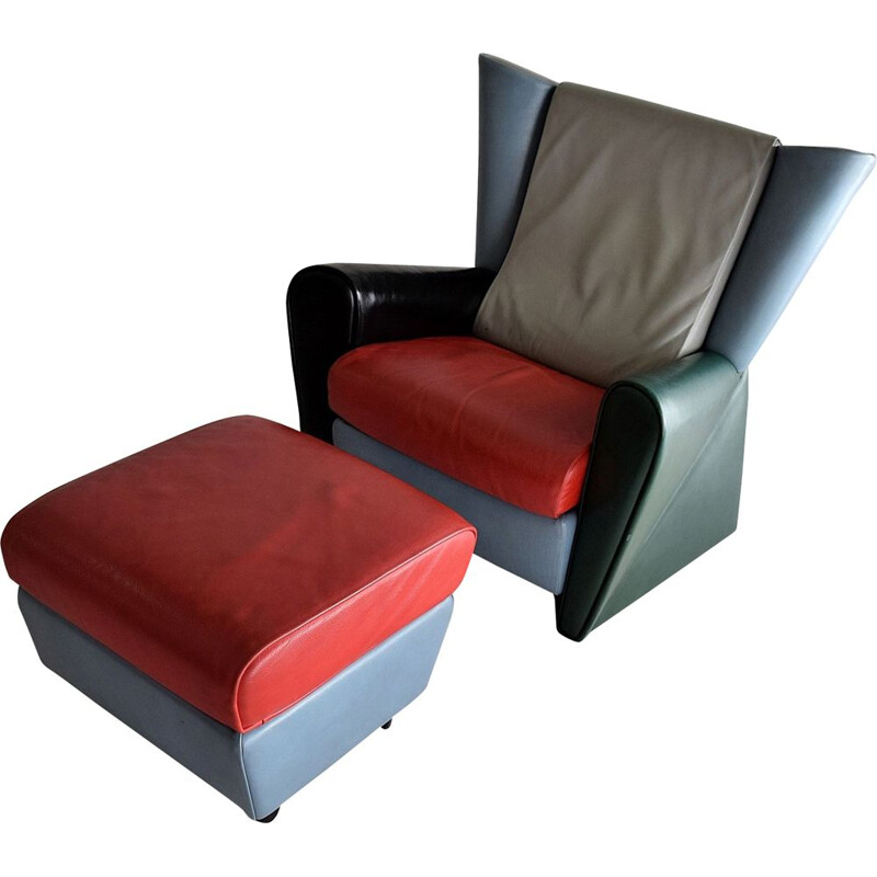 Vintage lounge chair number 14 limited edition by Alessandro Mendini
