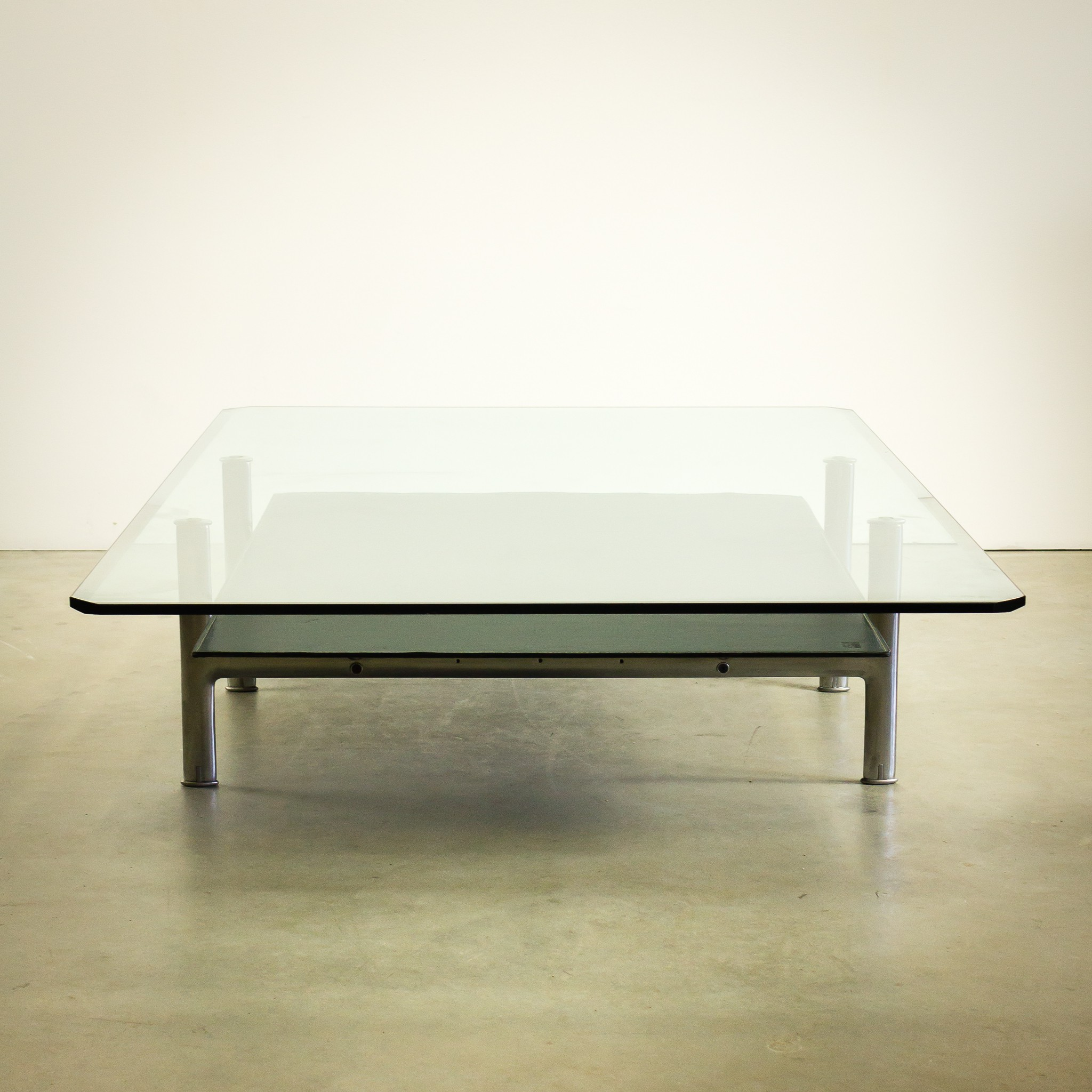 B&B Italia coffee table in glass Antonio CITTERIO & Paolo NAVA