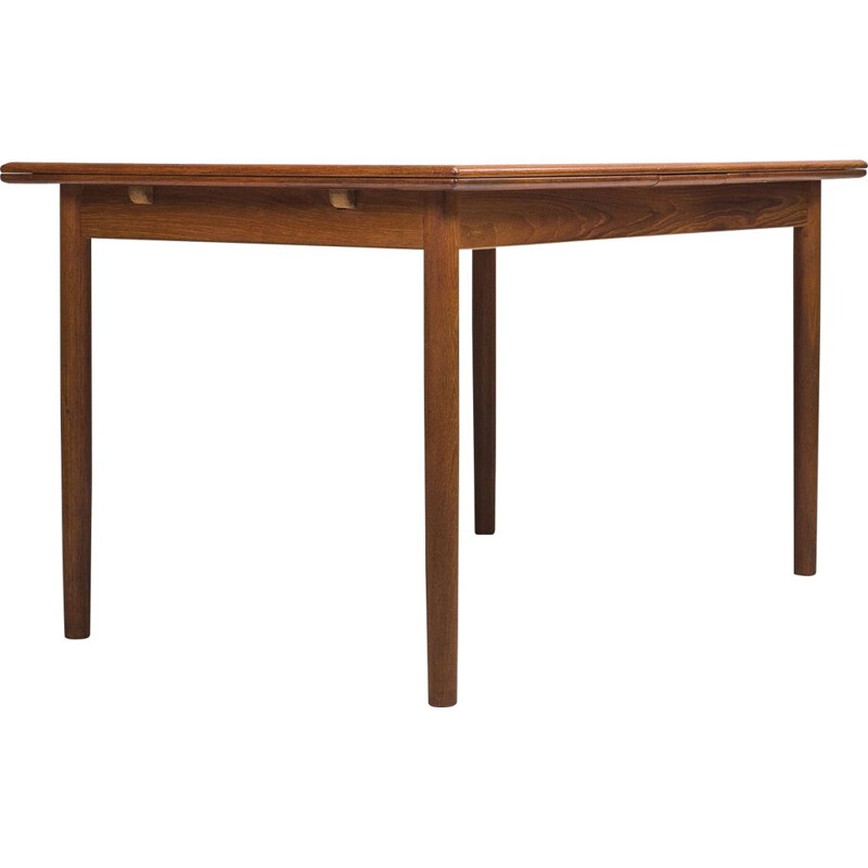 Danish extendable model 145 teak dining table by Willy Sigh for H. Sigh & Søn Møbelfabrik, 1960s