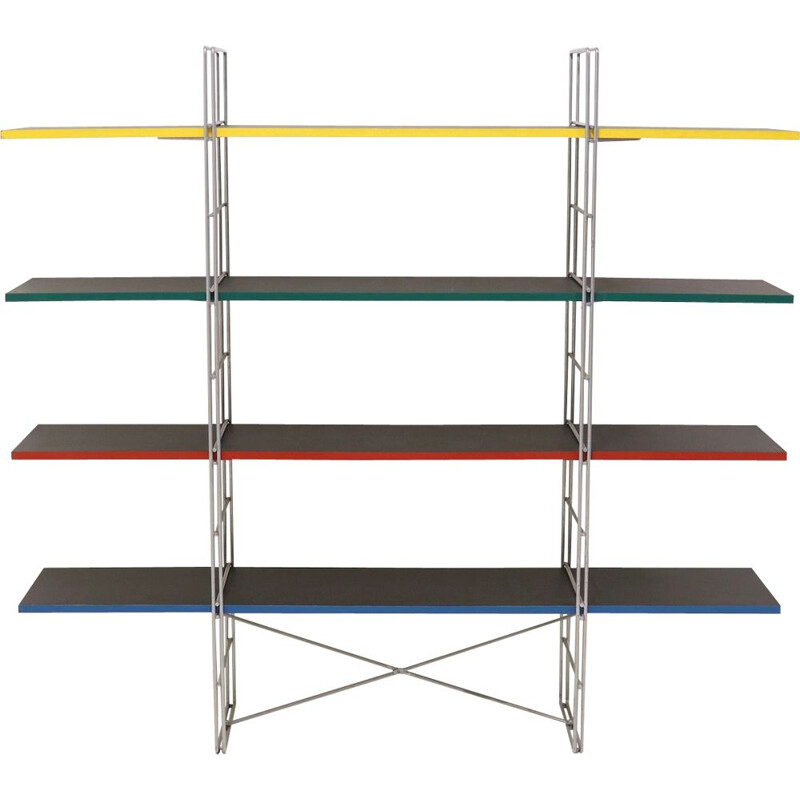 Vintage standing shelving unit by Niels Gammelgaard for IKEA, 1980s