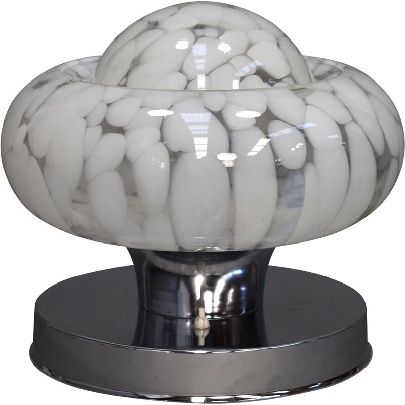 Murano glass vintage table lamp, Italy, 1970s