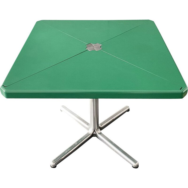 Vintage Plana Folding Table by Giancarlo Piretti for Castelli, 1970s