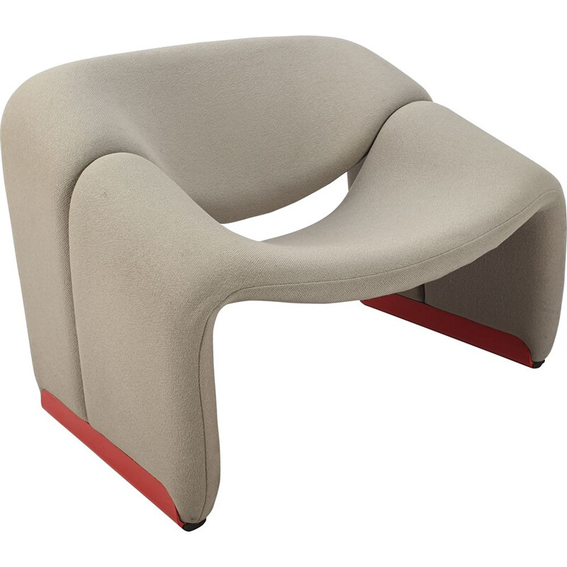 Vintage Model F598 Lounge Chair by Pierre Paulin for Artifort, 1980s