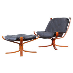 Falcon chair Sigurd RESSELL - 1970s