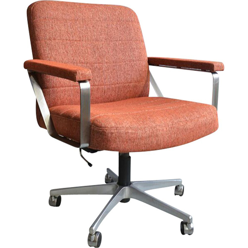 Vintage office chair swivel, 1960s