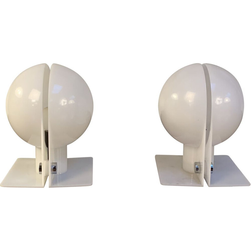 Pair of vintage SIRIO lamps by Guzzini