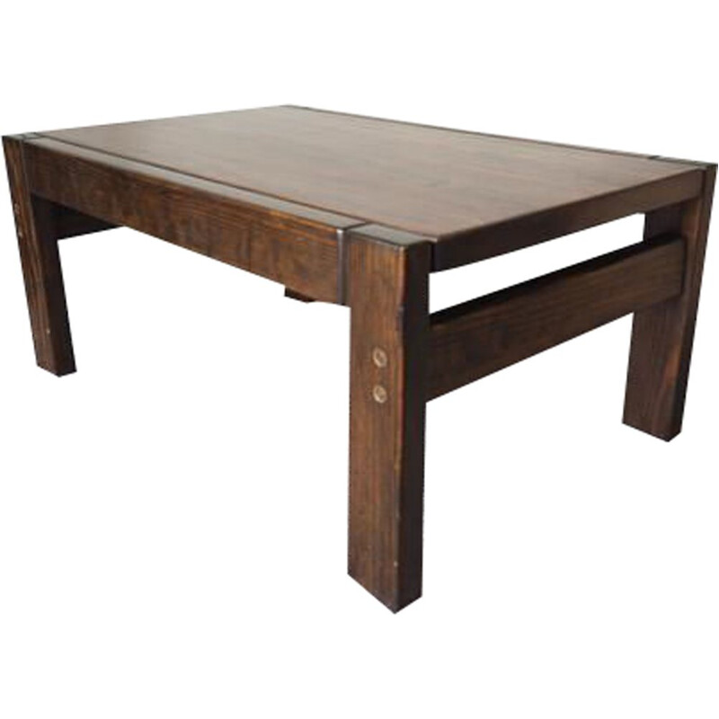 Vintage Danish Rosewood Silkeborg Coffee Table by Johannes Andersen for CFC Silkeborg