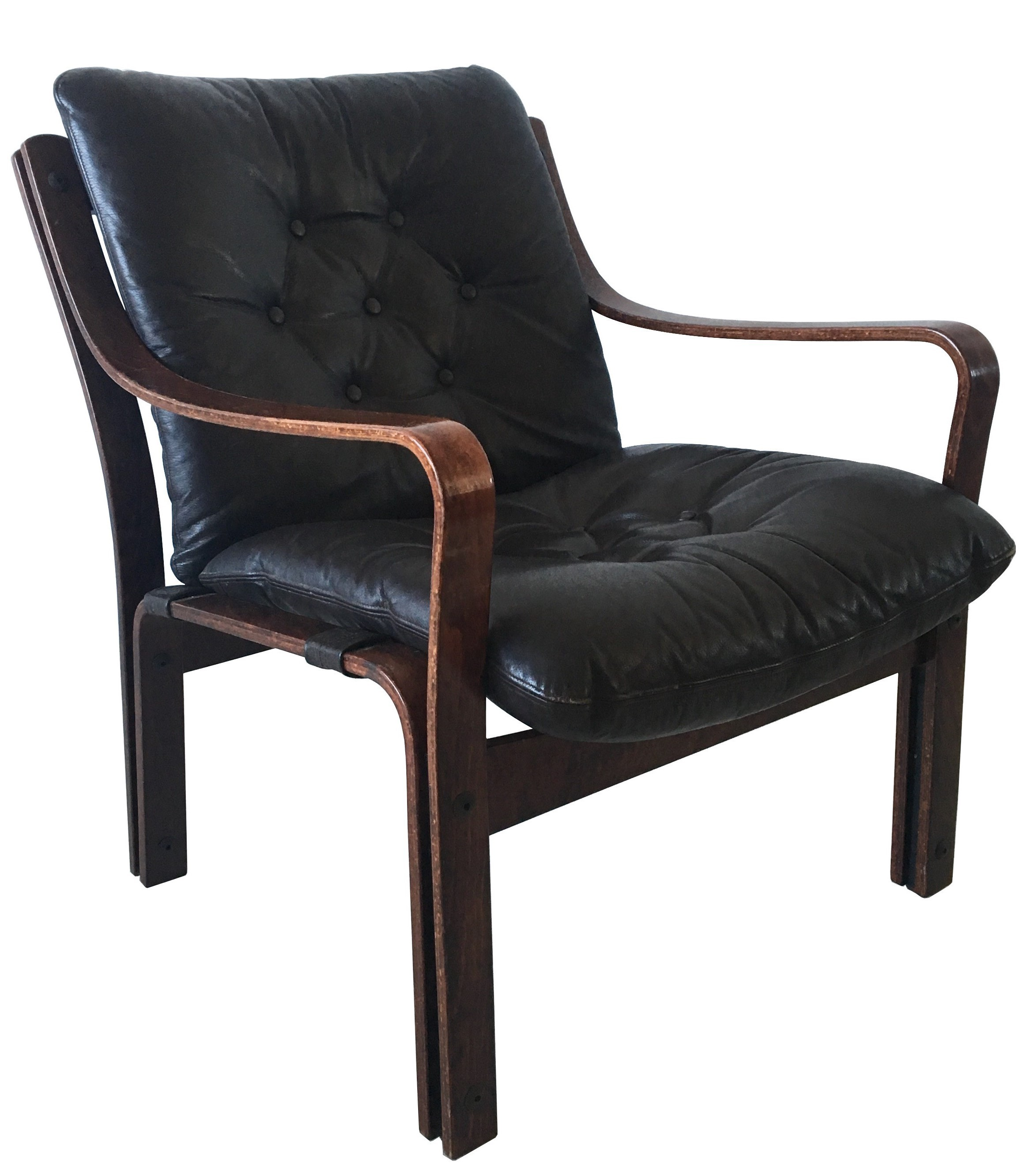vintageleather by product chair vintage lounge black en b goose leather anthracite