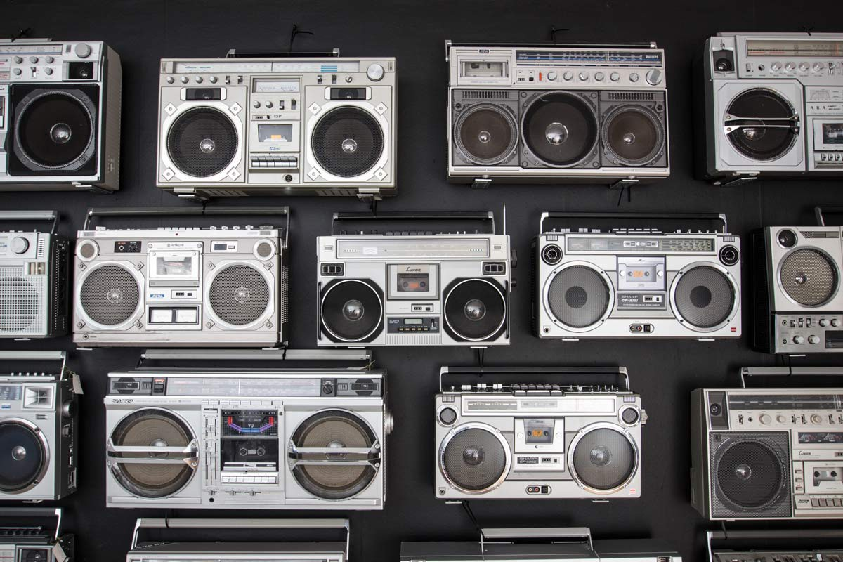 Vintage Collection Of 27 Boomboxes 1980s Design Market