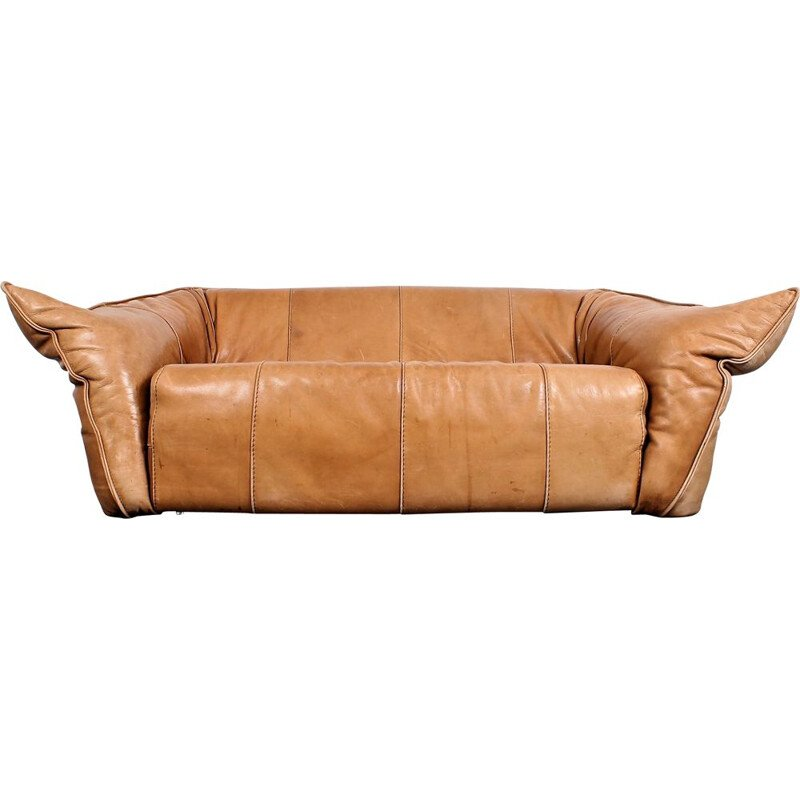Vintage leather sofa Andes by Gerard van den Berg for Montis