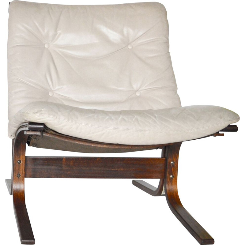 Vintage Beige Siesta Chair by Ingmar Relling for Westnofa, 1968