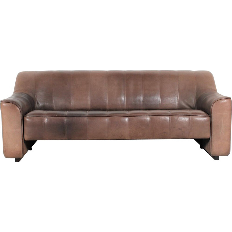 Vintage DS44 neckleather sofa by De Sede
