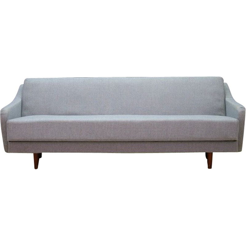 Vintage Danish 3-seater sofa in wood 1960