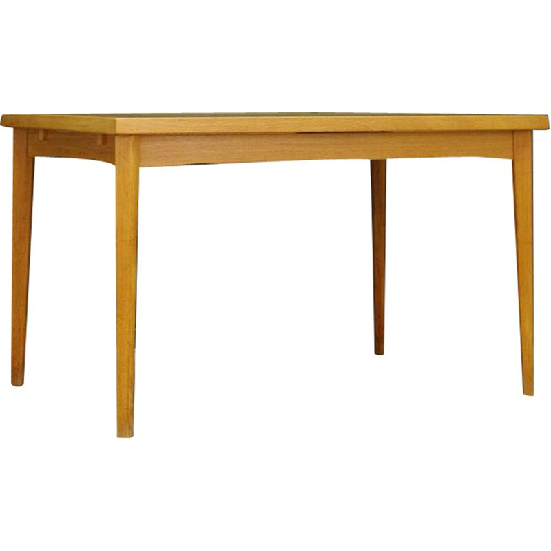 Danish ashwood vintage dining table