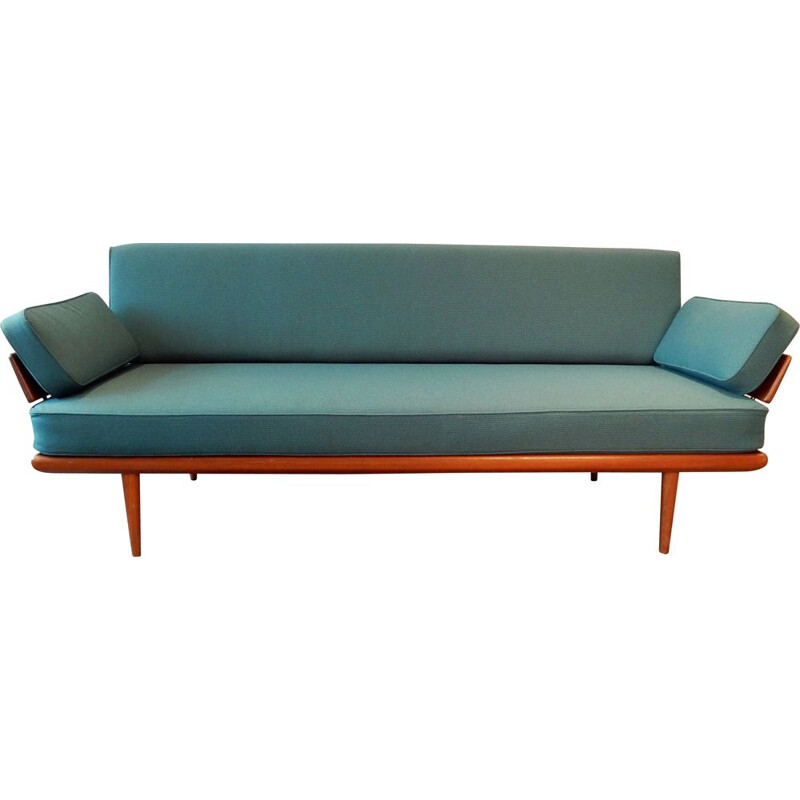 Vintage Minerva 3-seater sofa by Peter Hvidt and Orla Mølgaard Nielsen for France & Son, Denmark, 1950
