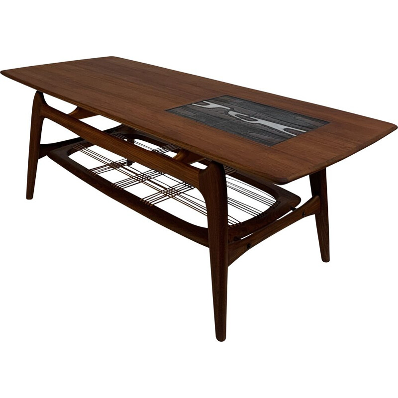 Vintage coffee table by Louis van Teeffelen