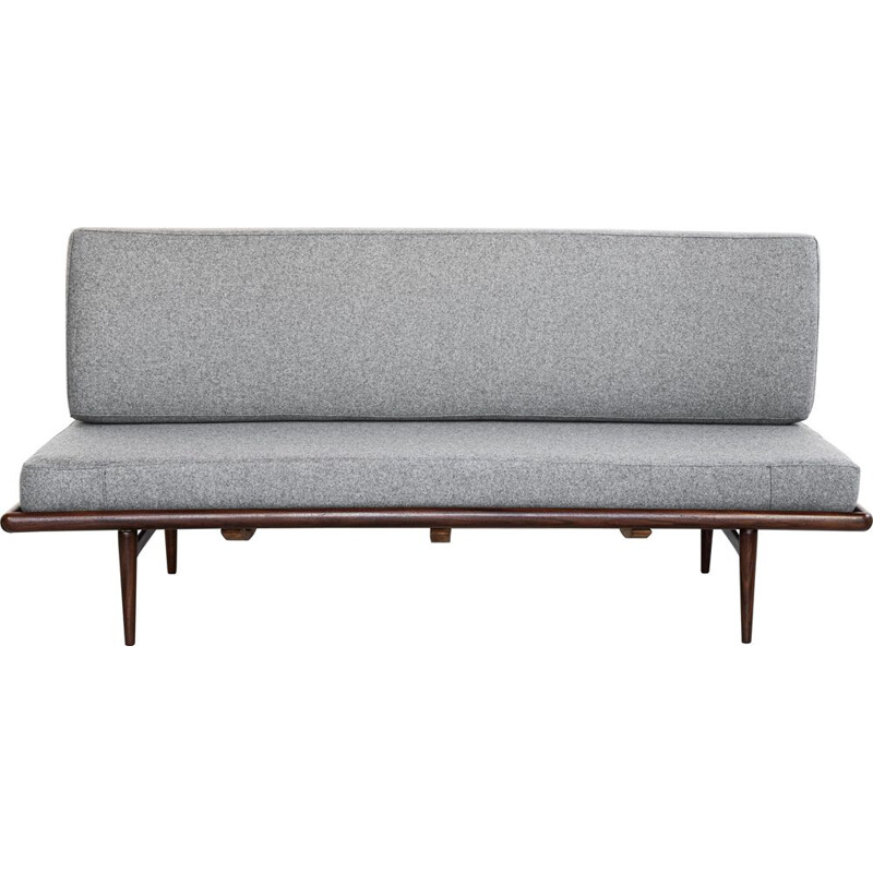 Vintage aybed sofa by Peter Hvidt & Orla Mølgaard-Nielsen for France & Daverkosen, 1950s
