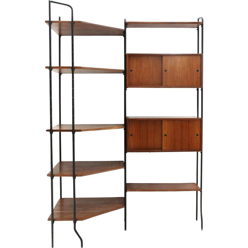 Vintage wall unit Model Aedes by Amma, 1950s