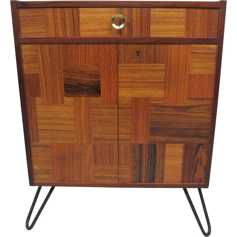 Vintage rosewood chest of drawers for Alberts Tibro, Sweden, 1970s