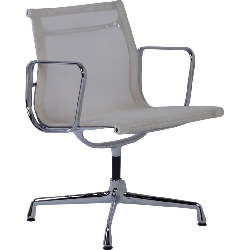 Vintage EA 107 Office chair by Charles & Ray Eames for Vitra, 2000s