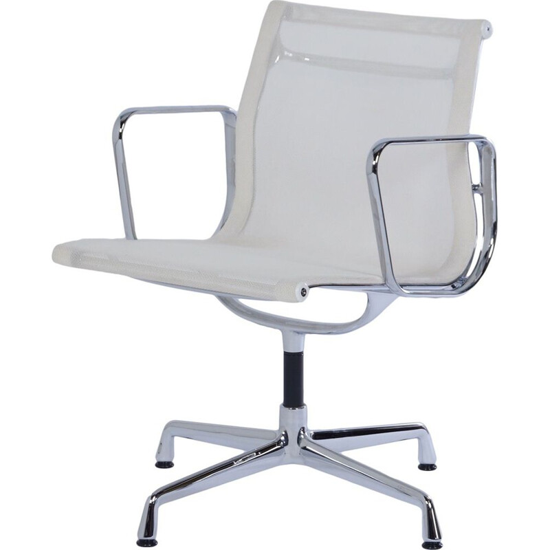 Vintage EA 108 Office chair by Charles and Ray Eames for Vitra, 2000s