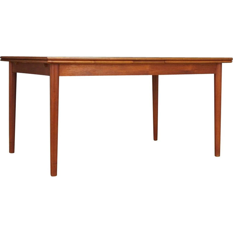 Vintage Danish Dining Table in Teak 1960