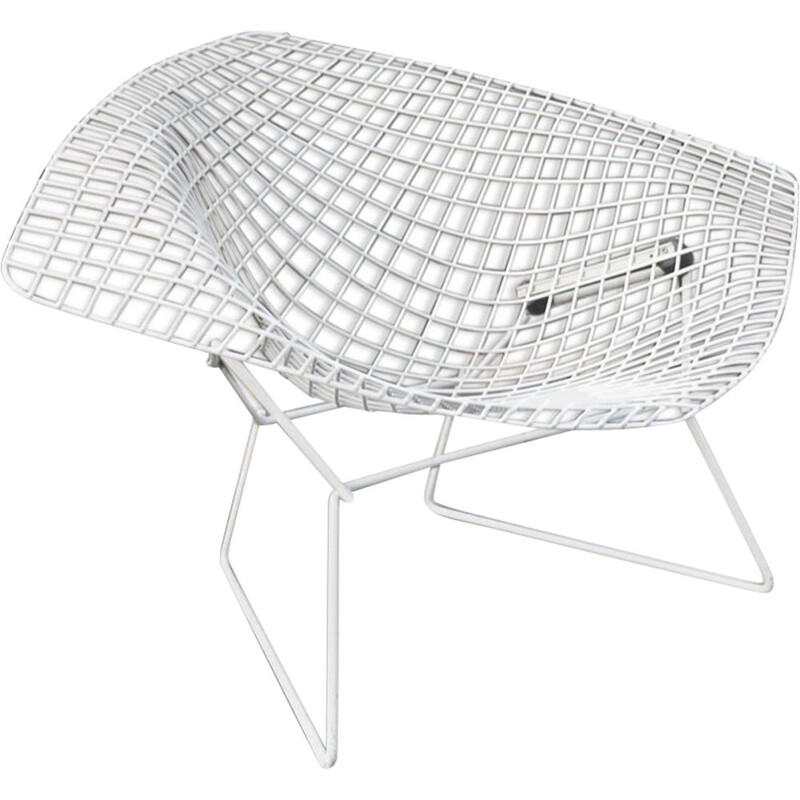 Vintage armchair Diamond by Harry Bertoia for Knoll