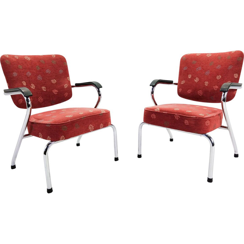 Pair of vintage Schuitema arm chairs