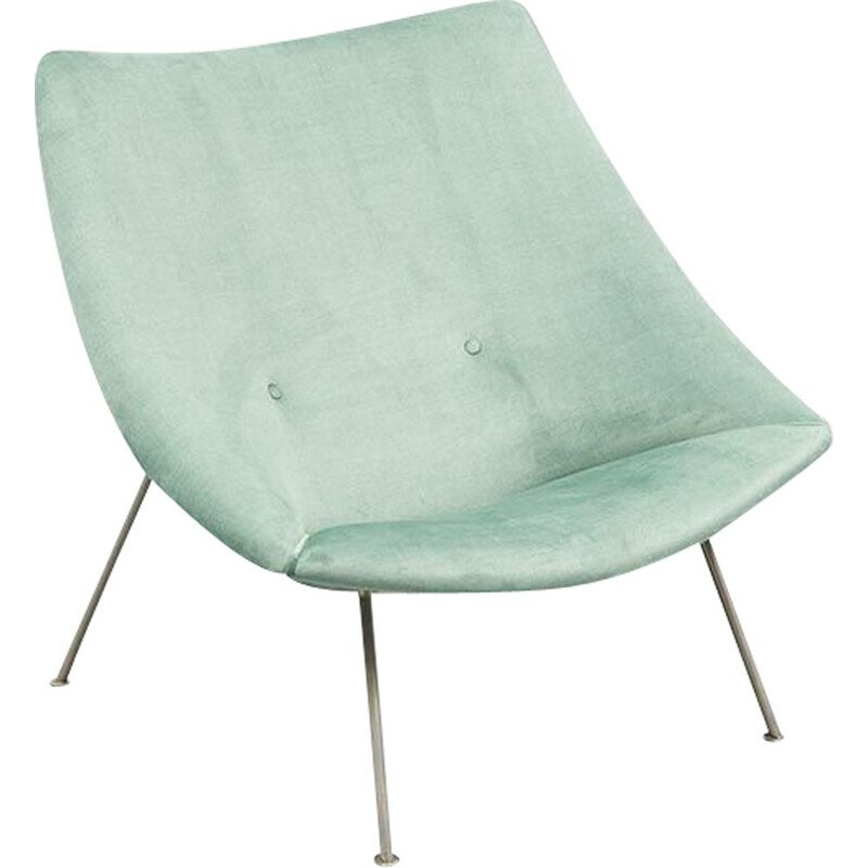Vintage armchair Oyster by Pierre Paulin