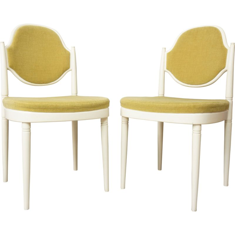 Suite of 2 vintage 644PV chairs by Thonet for Von Gustedt