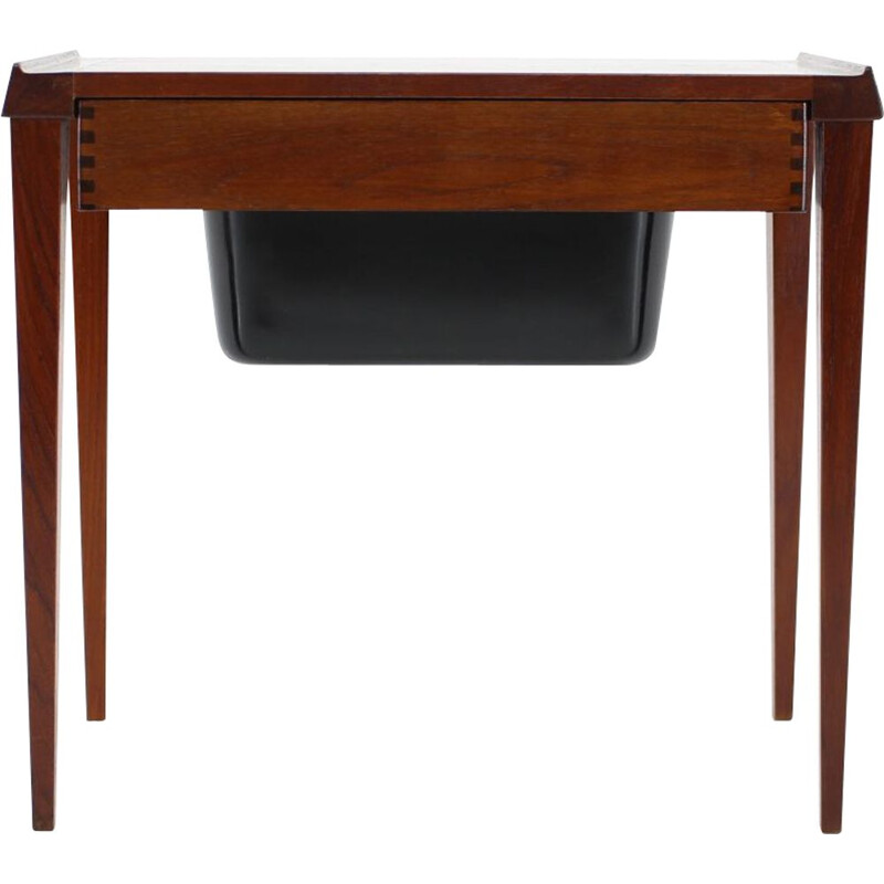Danish sewing table in vintage teak 1960
