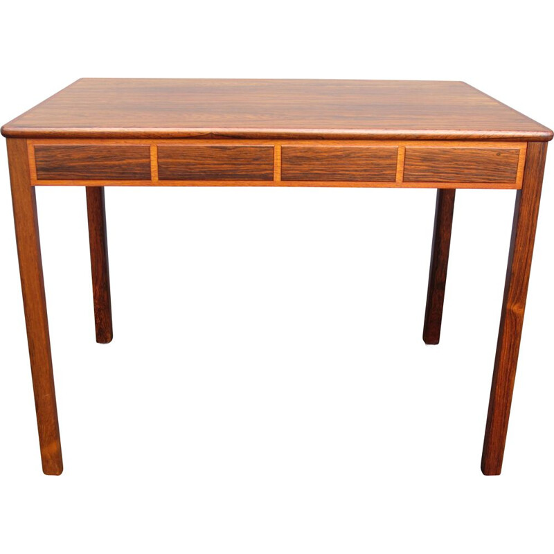 Vintage Scandinavian rosewood side table by Yngvar Sandström for AB Seffle Möbelfabrik