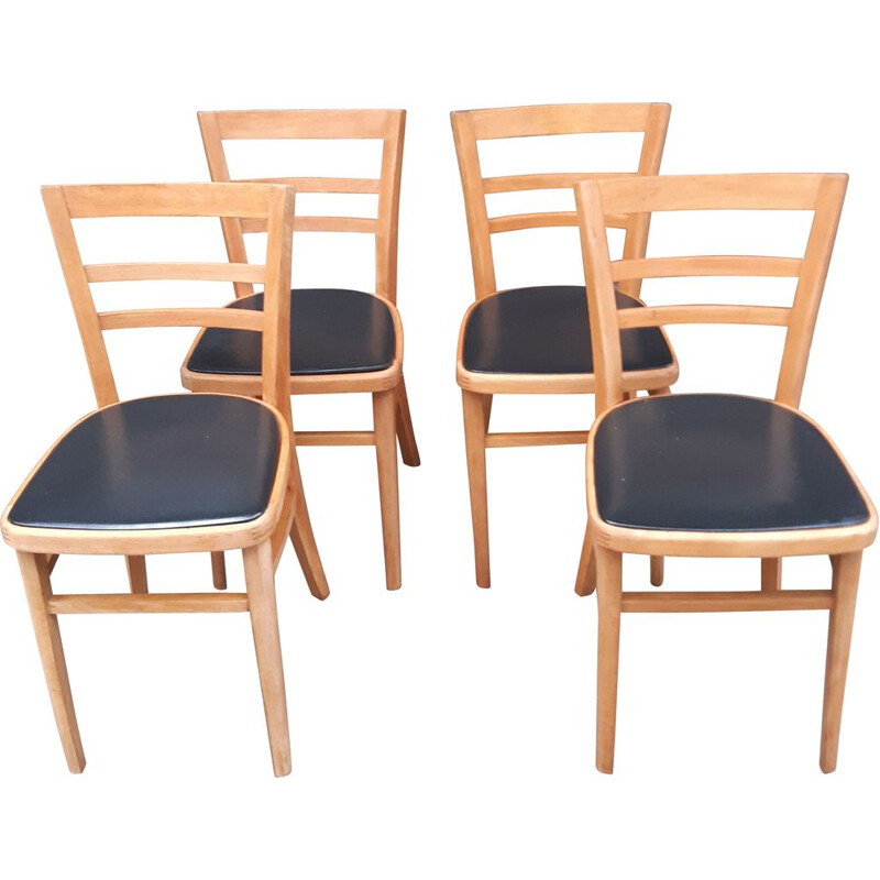 Set  of Four vintage Ben Of Stowe Dining Chairs
