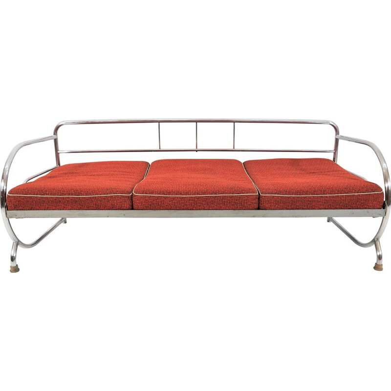 Vintage Art Deco sofa from Hynek Gottwald, 1930s