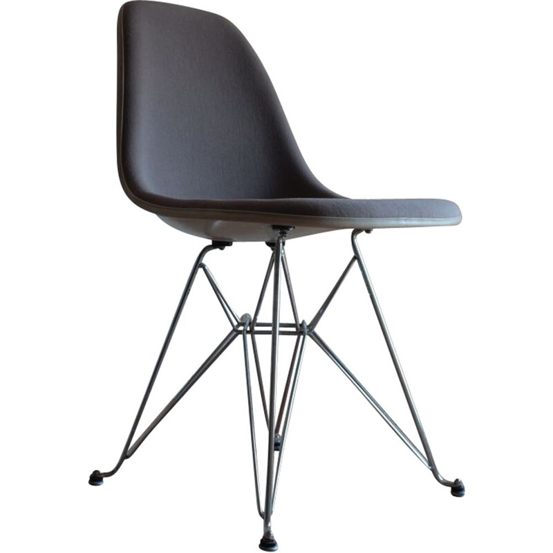 Vintage Fiberglass Eiffel Chair by Charles & Ray Eames for Herman Miller, 1970s