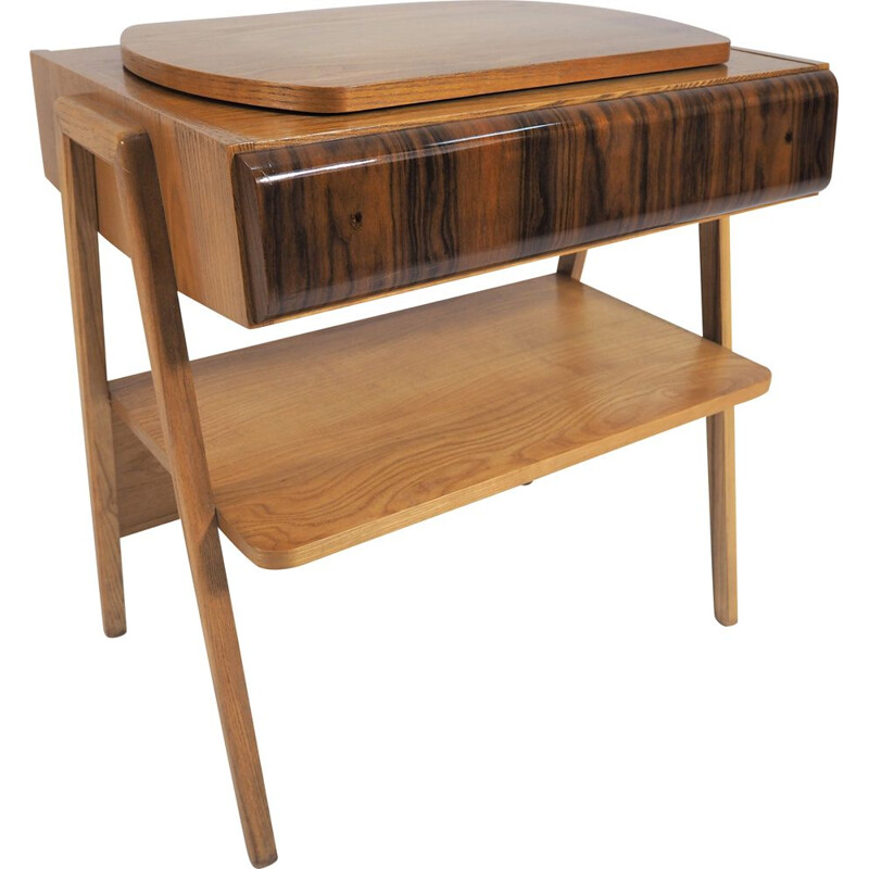 Vintage Krkonošský TV table, 1961