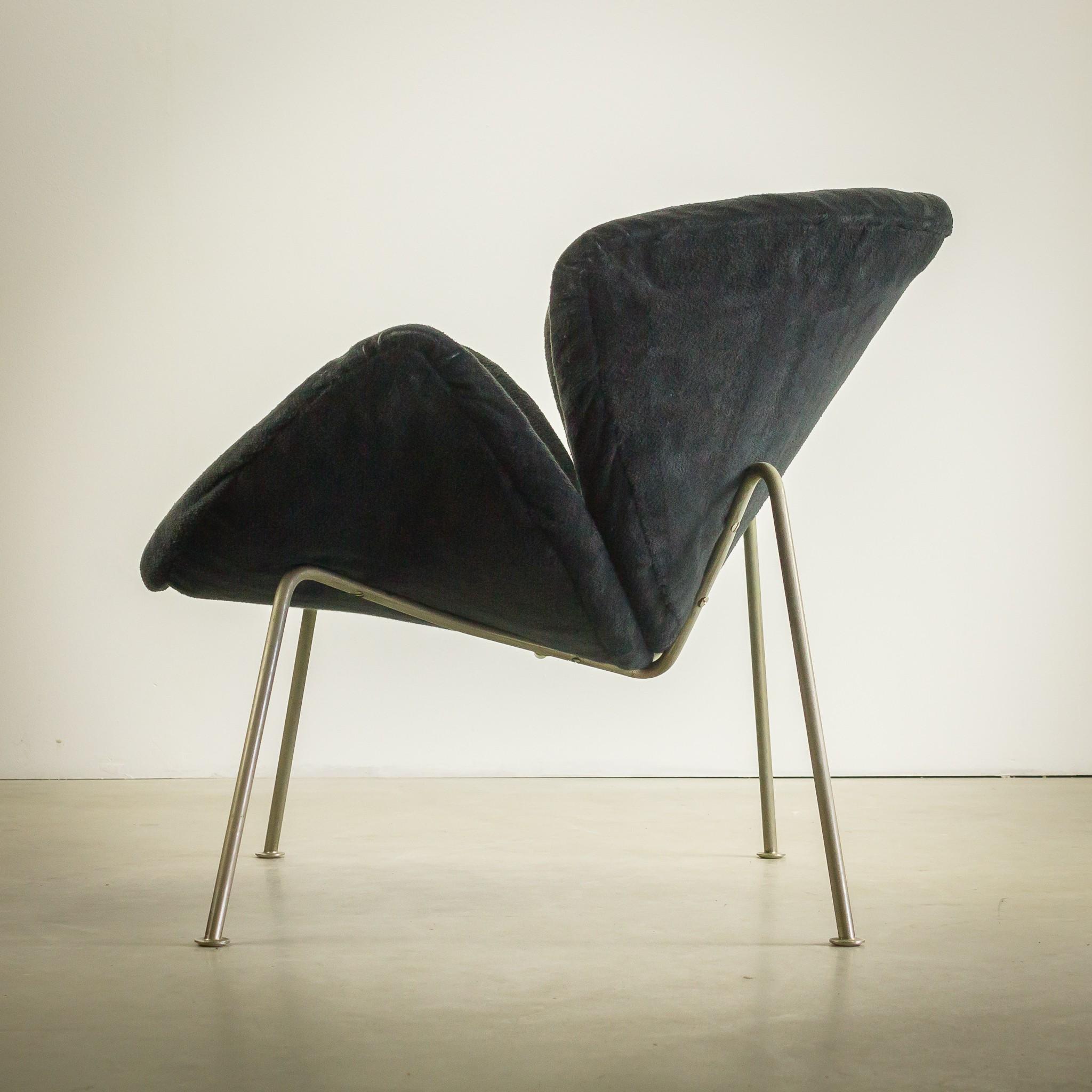 "Artifort ""F437"" Orange Slice Chair, Pierre PAULIN"