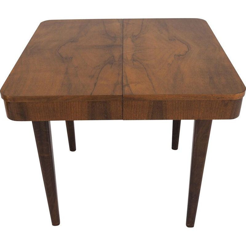 Vintage Art Deco Czech Dining Table by Jindřich Halabala, 1950s