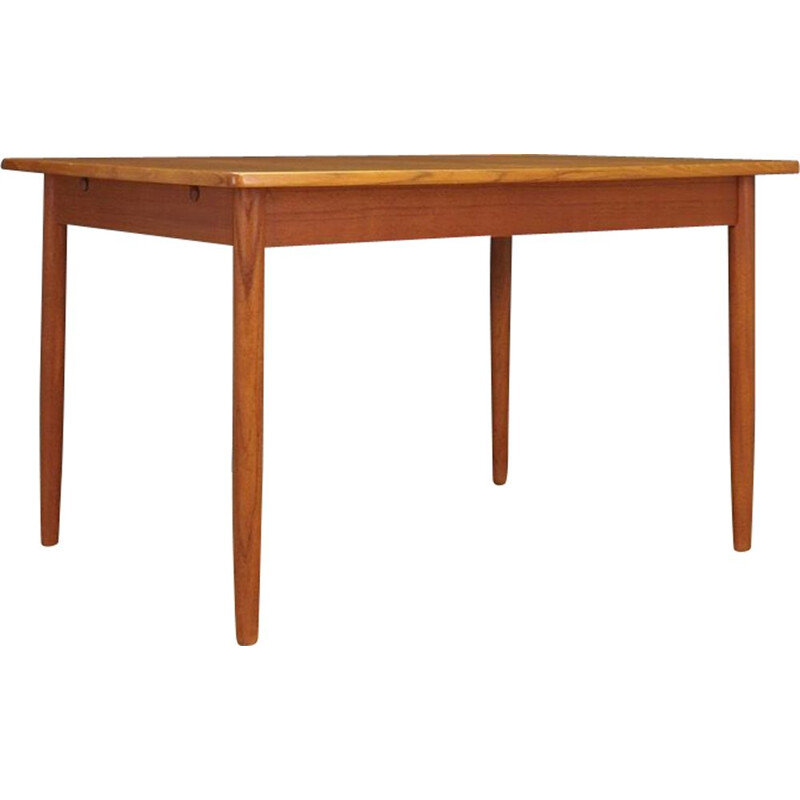 Vintage teak danish dining table 1960
