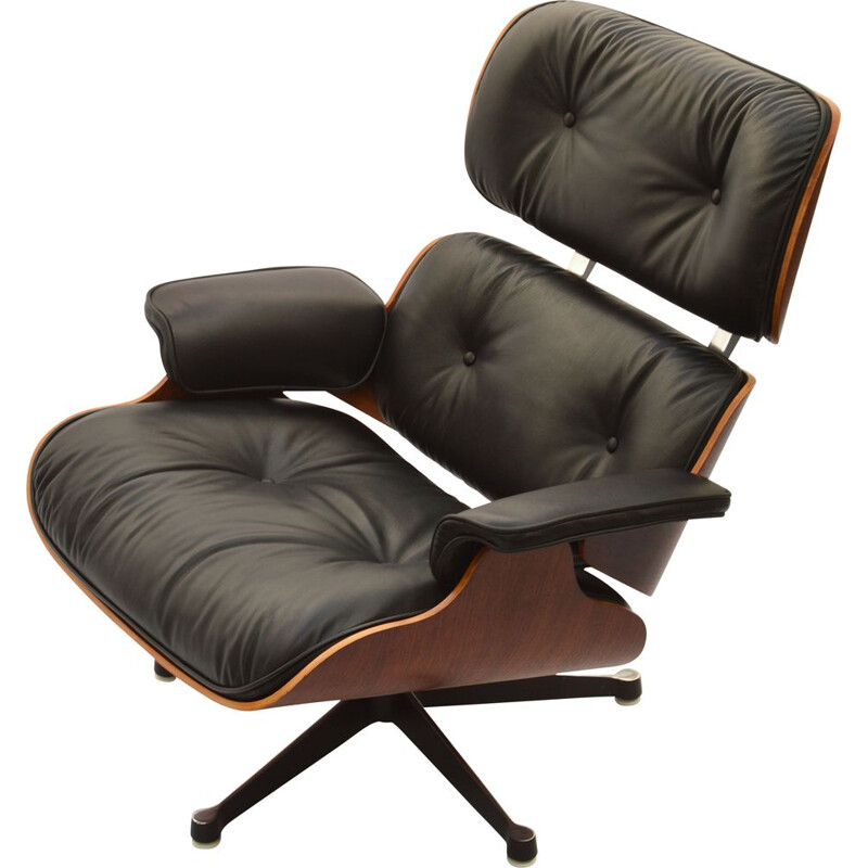 Vintage Eames Lounge Chair in Rosewood by Herman Miller, 1960s