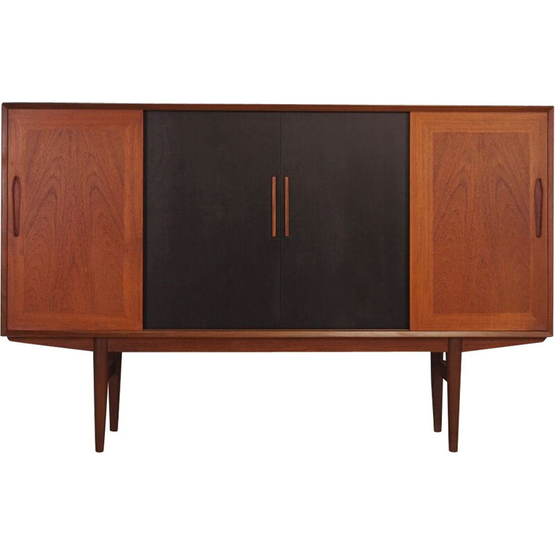 Vintage Danish highboard in teak 1960