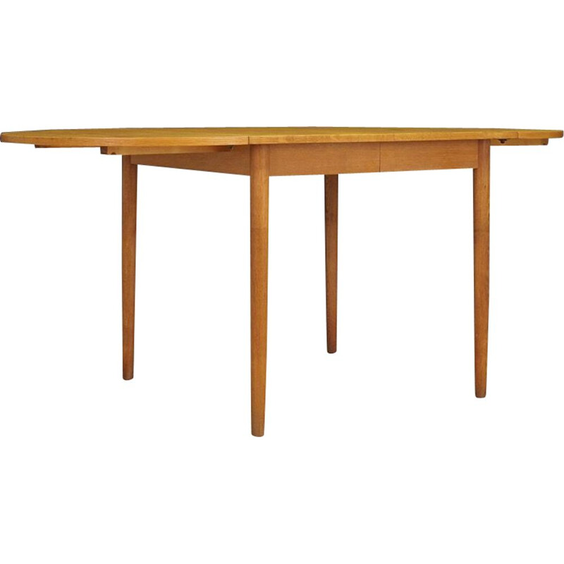Vintage Danish extendable table in ashwood