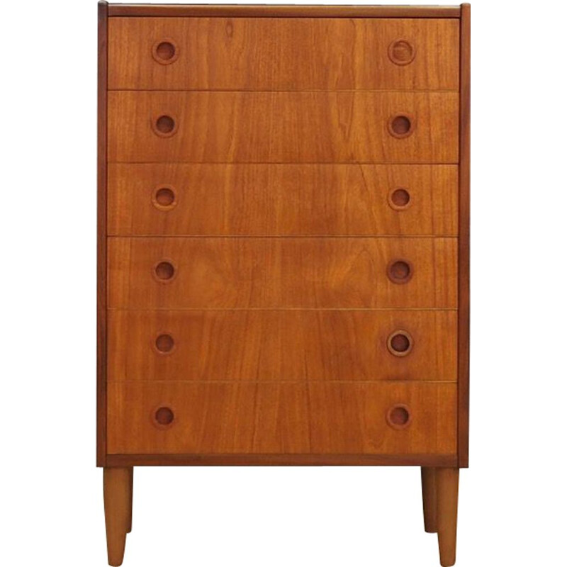Vintage danish Chest Of Drawers in Teak, 1960