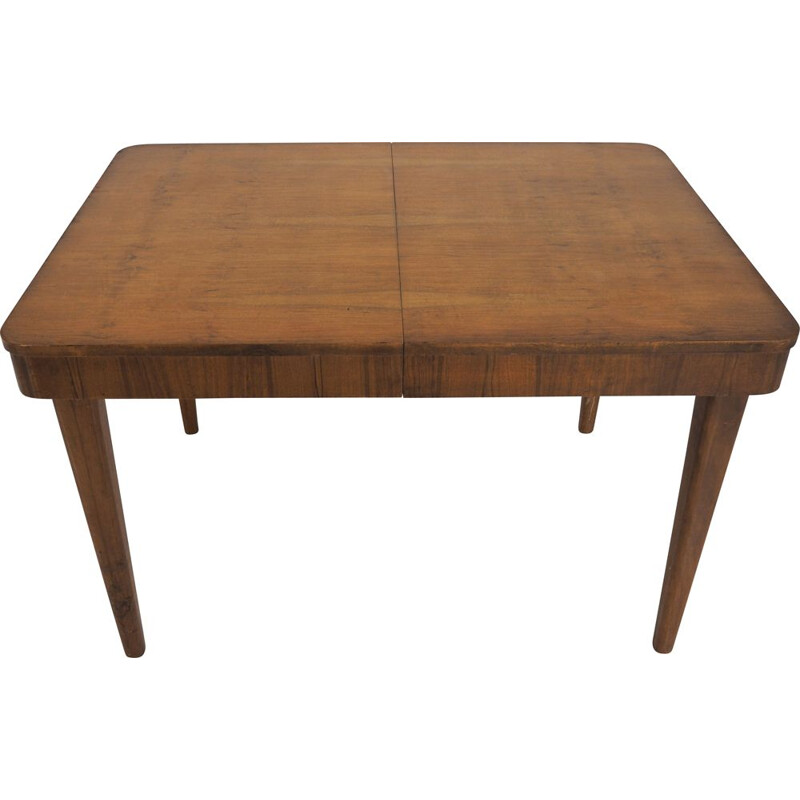 Vintage Czech dining table by Jindřich Halabala for UP Závody, 1950s