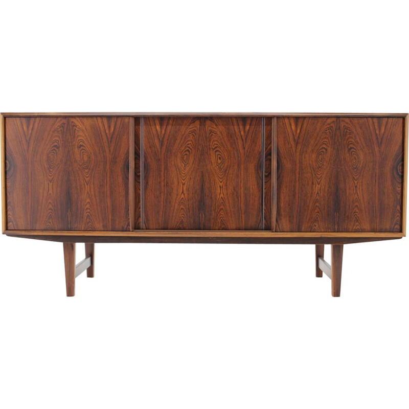 Vintage E.W. Bach for Sejling Skabe Credenza in Rosewood 1960
